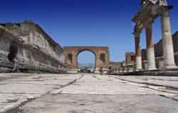 Naples City Break Half Day Tour of Pompeii