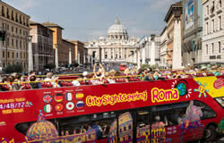 Rome Bus Tour - Rome & Paris City Break